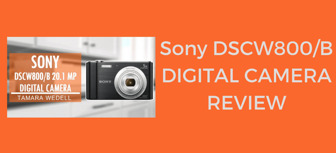 Sony DSCW800/b 20.1 mp Digital Camera Review